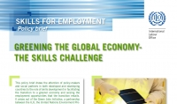 Greening The Global Economy - The Skills Challenge
