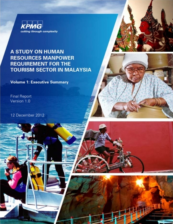 A Study on Human Resources Manpower Requirement for the Tourism Sector in Malaysia 2012