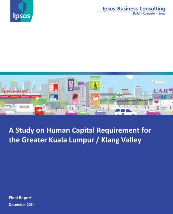 A Study on Human Capital Requirement for Greater Kuala Lumpur / Klang Valley