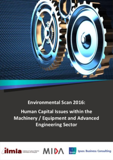 Environmental Scan (ES): Human Capital Issues Within Machinery/Equipment & Advanced Engineering Sector