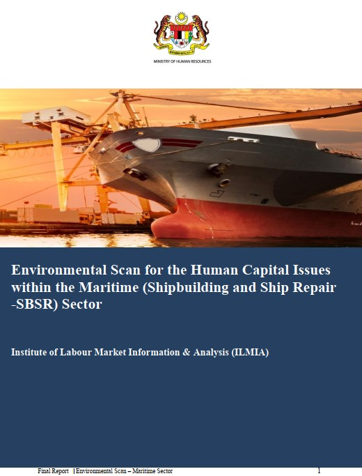 Environmental Scan for the Human Capital Issues within the Maritime (Shipbuilding and Ship Repair - SBSR) Sector