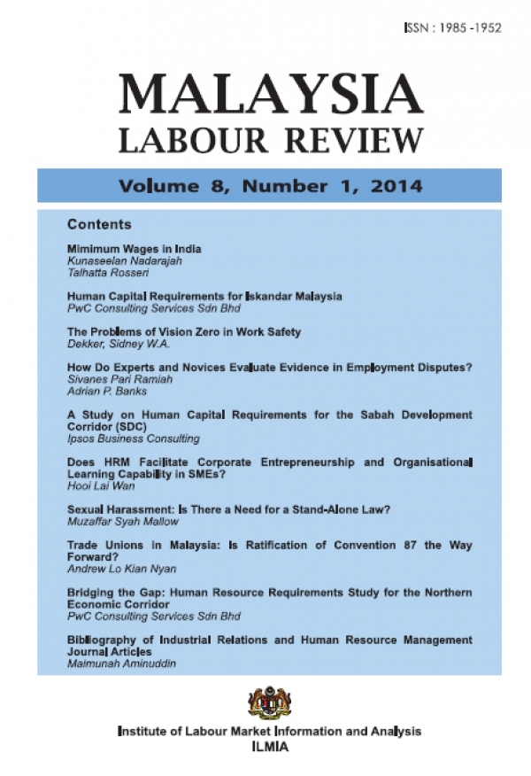 Malaysian Labour Review Volume 8, Number 1, 2014