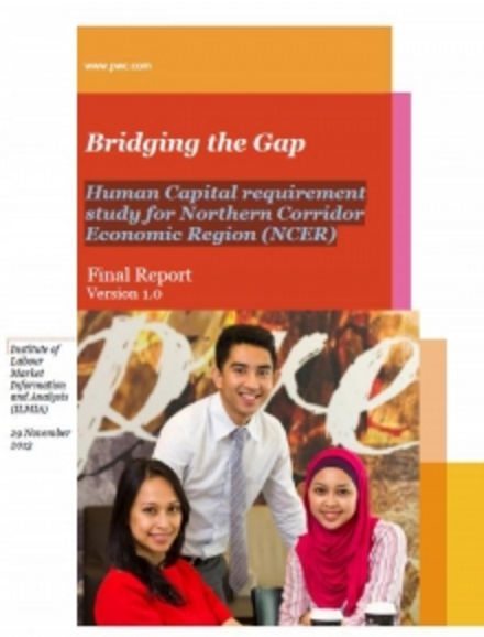 Human Capital requirement study for Northern Corridor Economic Region (NCER)
