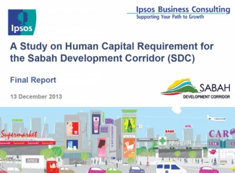 A Study on Human Capital Requirement for the Sabah Development Corridor (SDC)