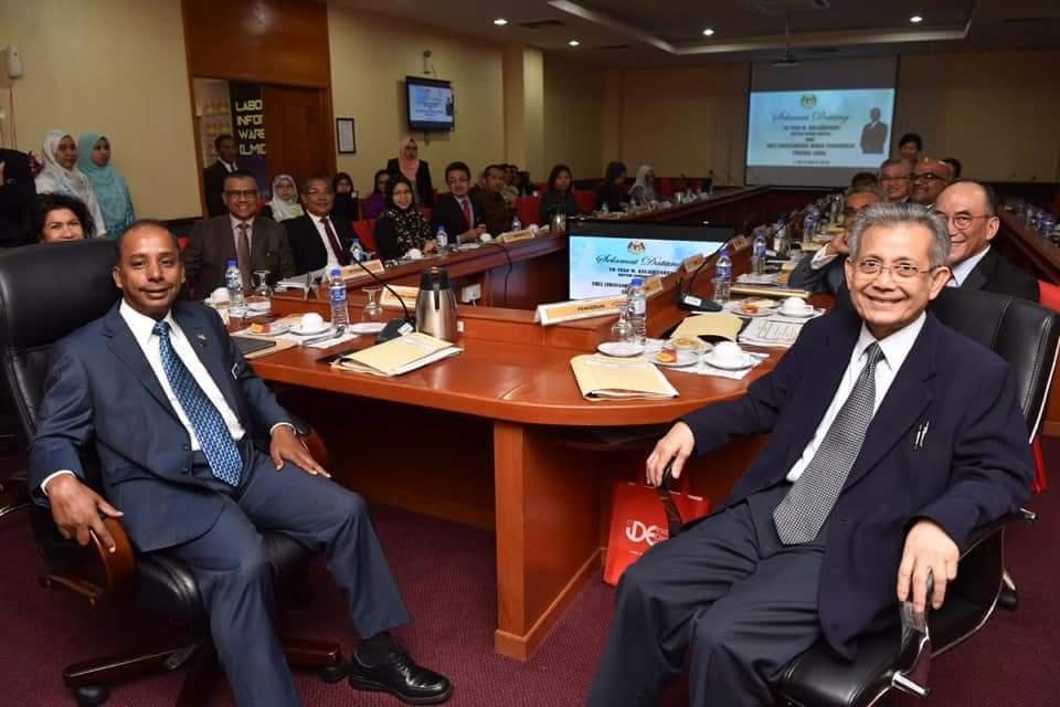 Majlis Penyerahan Watikah Perlantikan oleh YB Menteri Sumber Manusia dan Mesyuarat Jawatankuasa Bebas Pengurusan Pekerja Asing